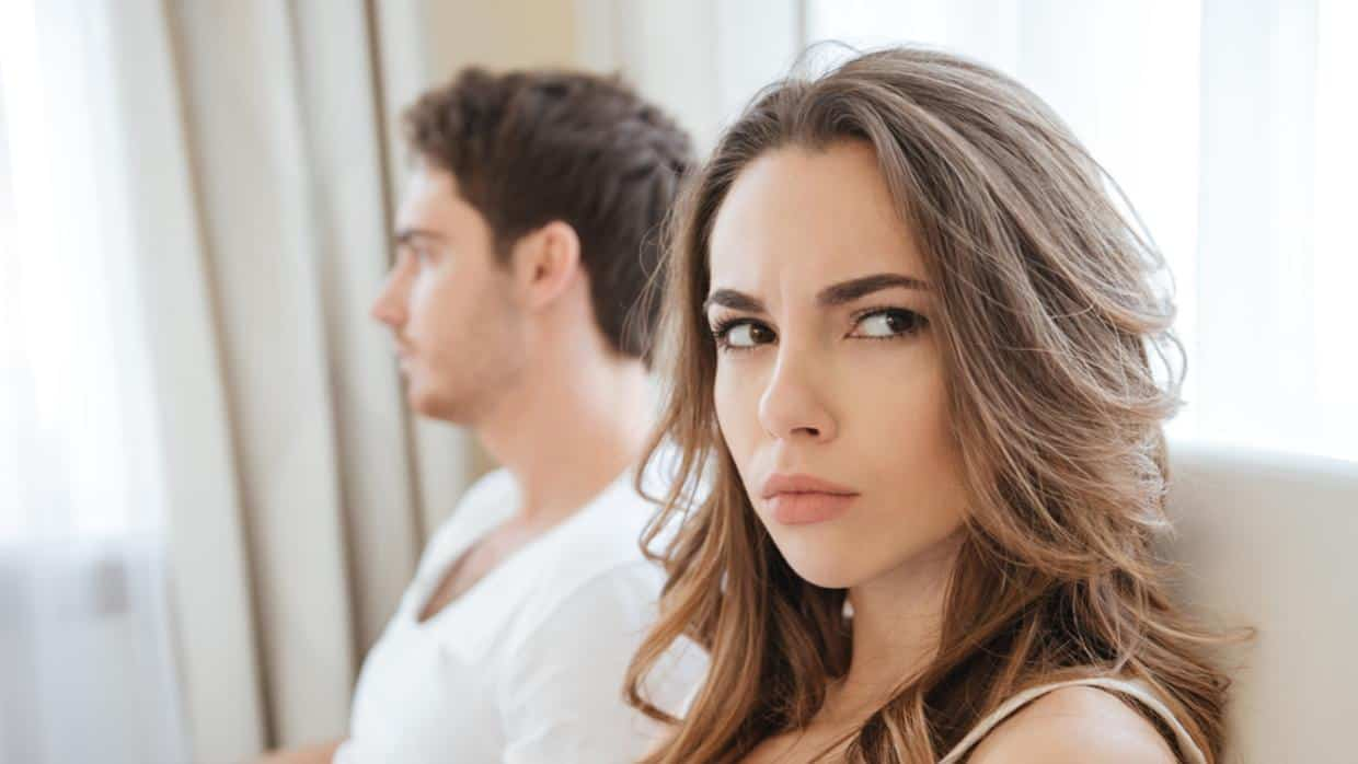 Woman angry at Partner | Blue Horizon Counselling