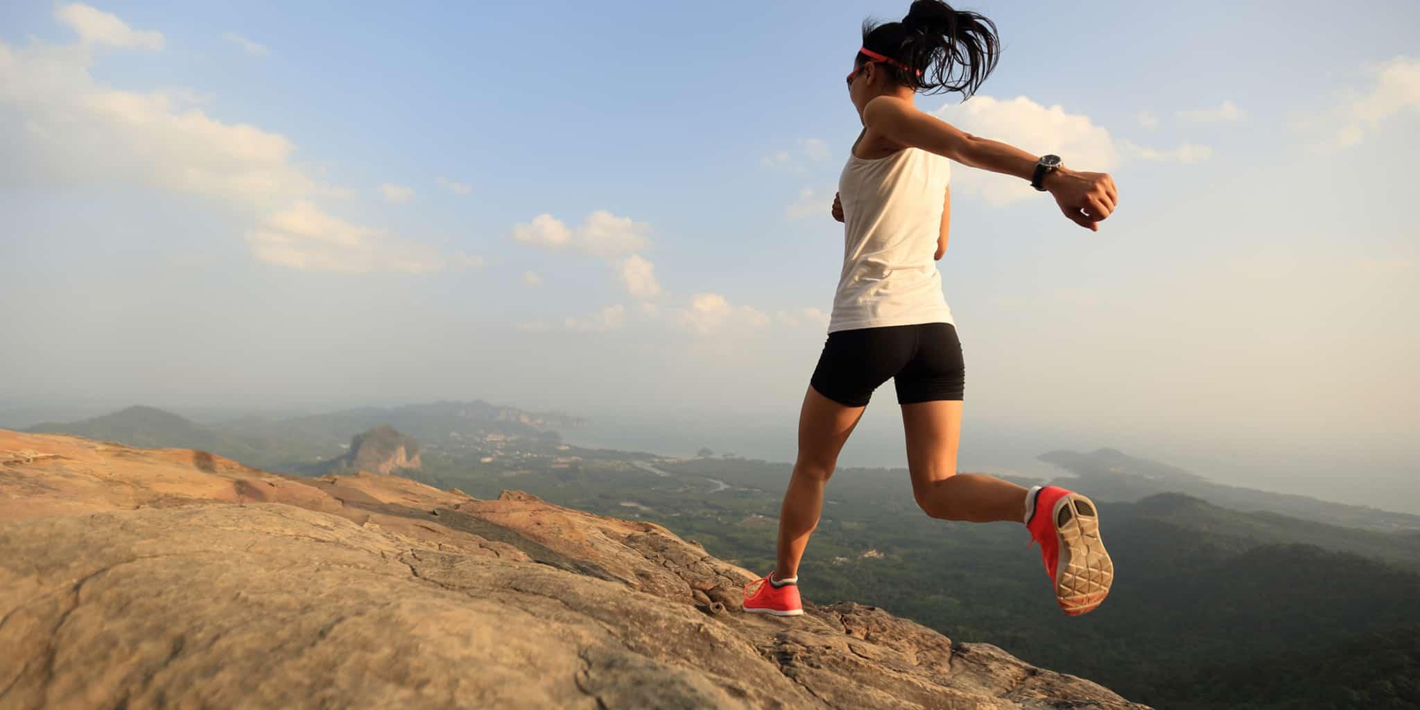 Girl Overcoming Anxiety through Running   Blue Horizon Counselling