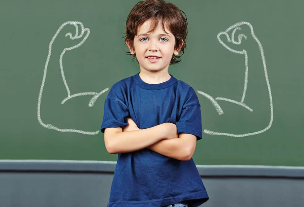 Boys and Healthy Self-esteem
