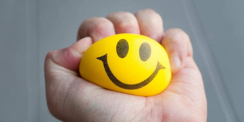 Yellow Stress Ball | Blue Horizon Counselling