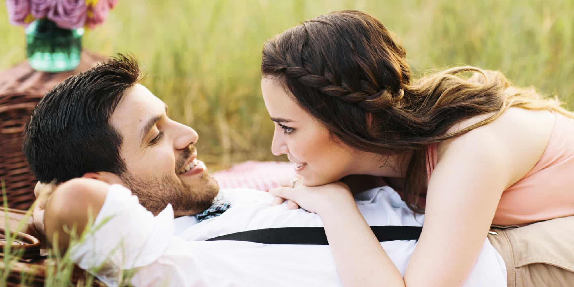 Loving Couple Together in Park | Blue Horizon Counselling