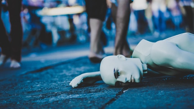 Broken Mannequin on ground | Blue Horizon Counselling
