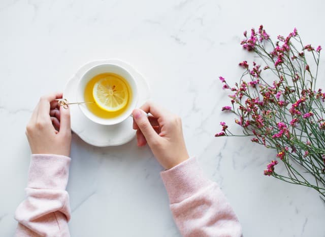 Person Relaxing with Tea | Blue Horizon Counselling