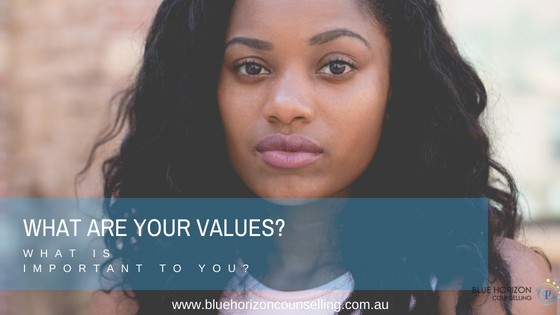 Picture of Girl considering Life Values | Blue Horizon Counselling