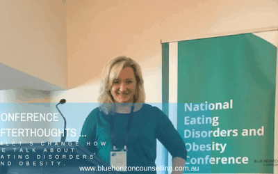 Conference afterthoughts (Eating Disorders and Obesity, 2018)